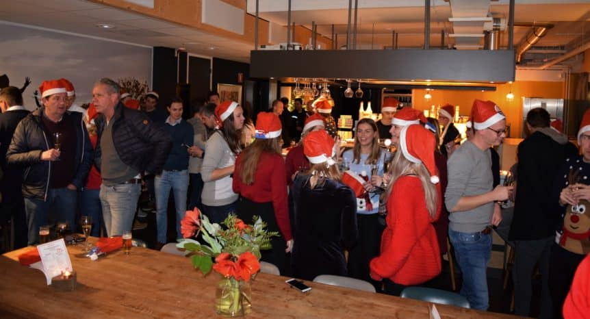 Kerstborrel Team4Events